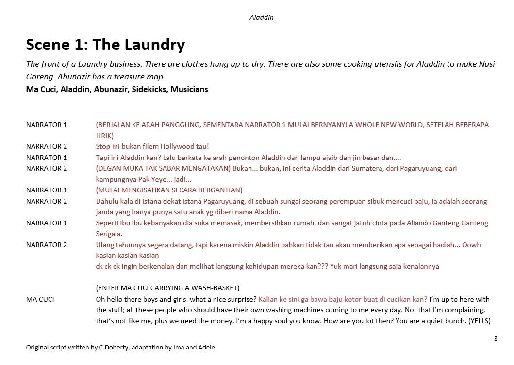 screen shot aladdin script